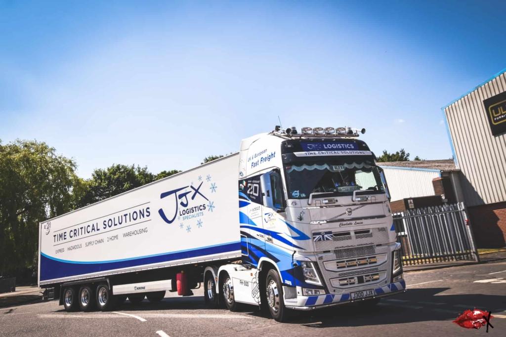 JJX Logistics Temperature Controlled Transport