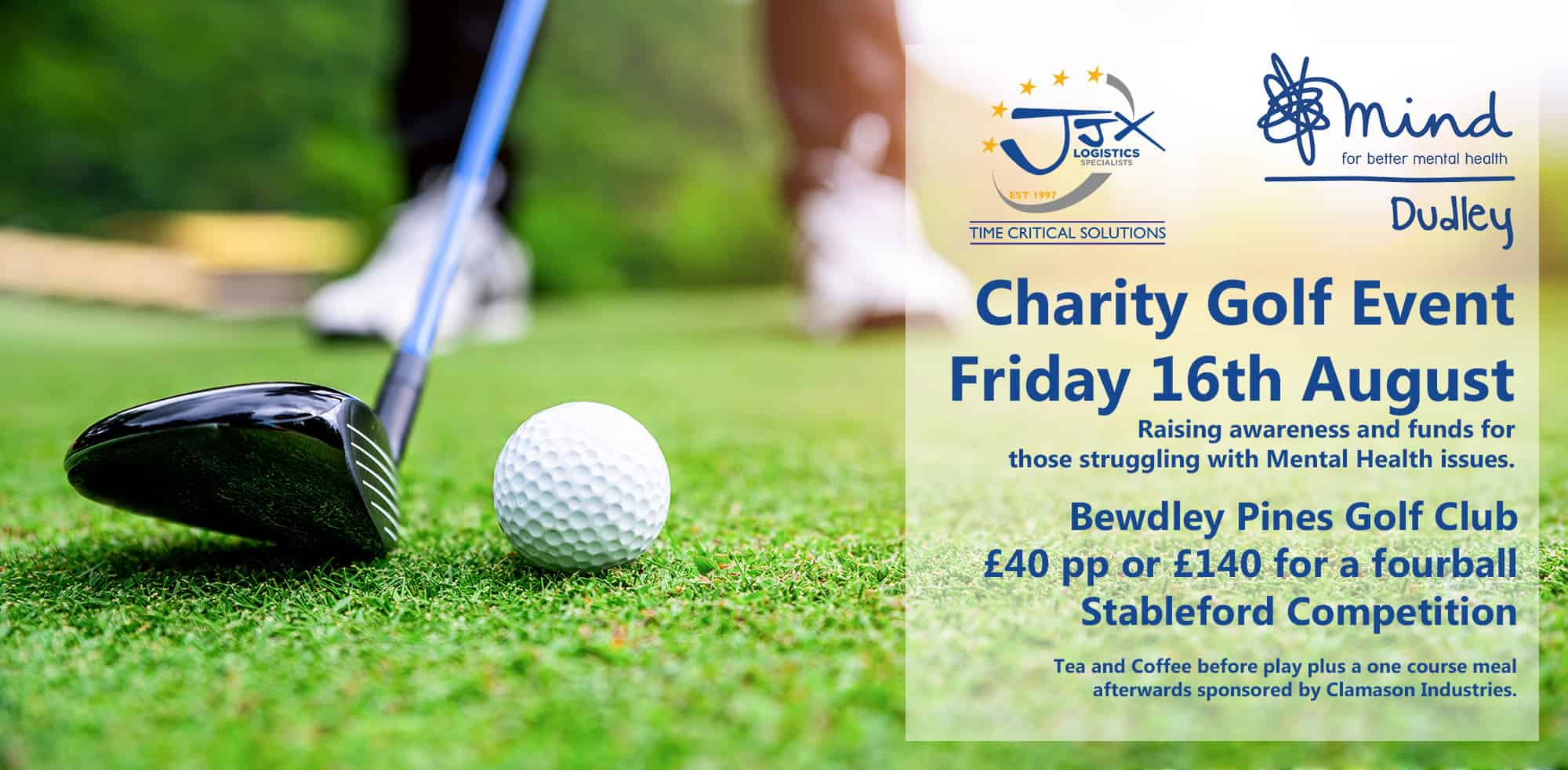 Charity Golf Event in aid of Dudley Mind