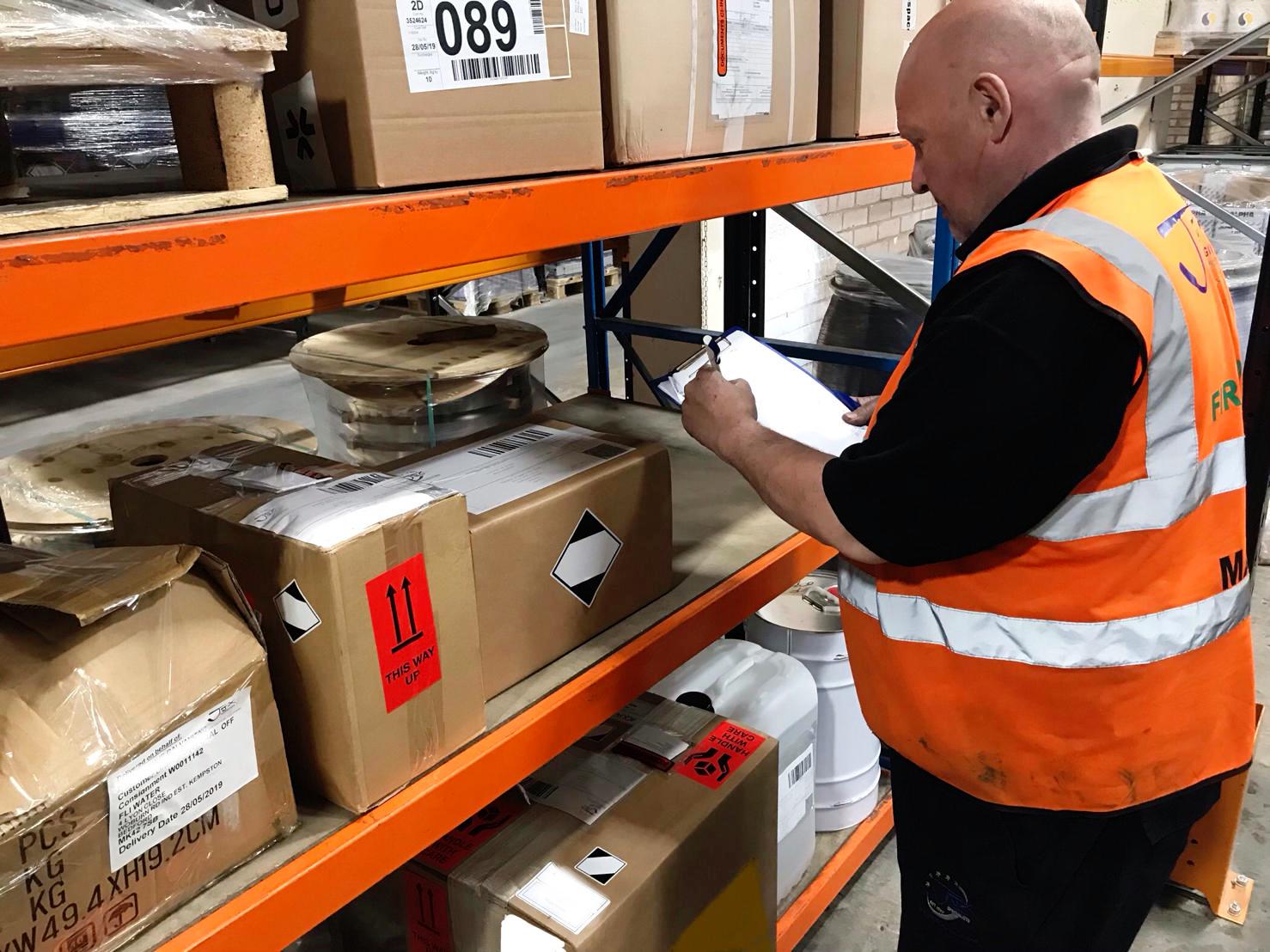 Warehouse, Storage and Fulfilment at JJX Logistics