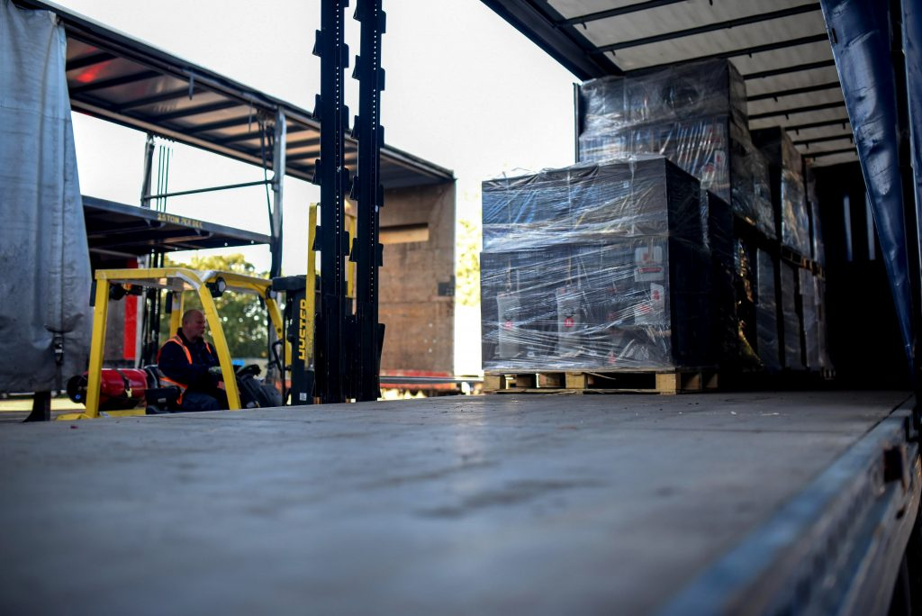 warehouse forklift drivers
