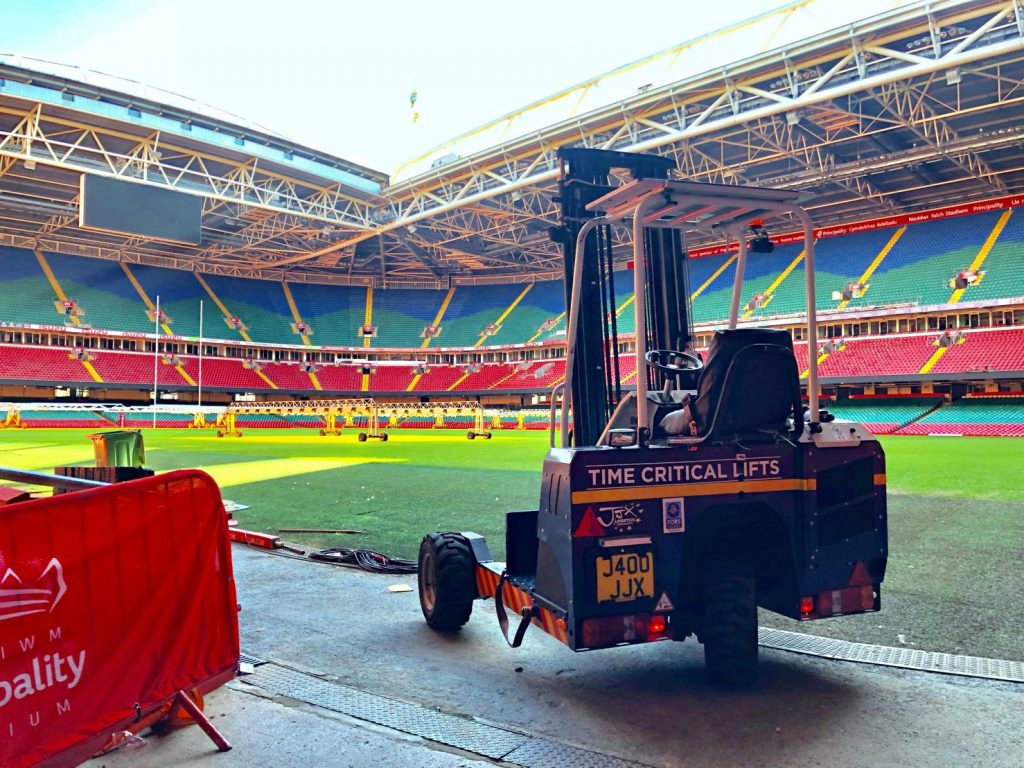moffet at principality stadium