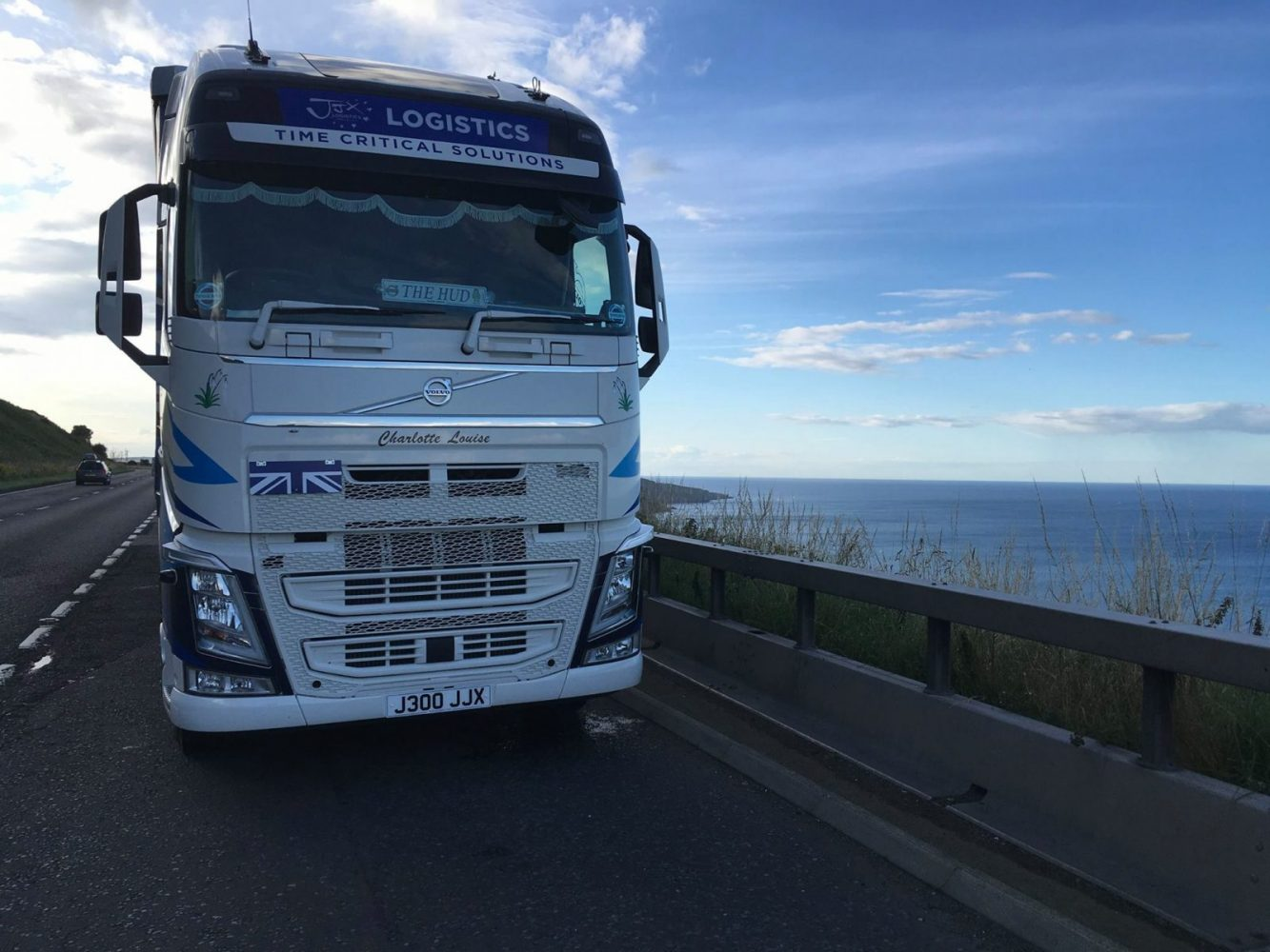 parked up by the sea